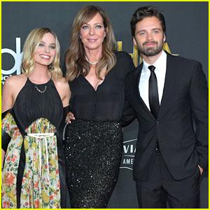 Margot Robbie & Allison Janney Represent 'I, Tonya' at Hollywood Film Awards 2017