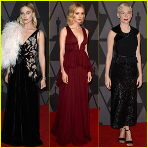 Margot Robbie, Carey Mulligan, & Michelle Williams Are Stunning Leading Ladies at Governors Awards 2017!