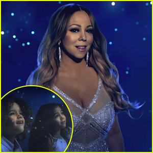 Mariah Carey's Twins Monroe & Moroccan Make a Cameo in 'The Star' Video - Watch!