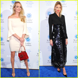 Martha Hunt & Lindsay Ellingson Buddy Up at World of Children Awards Ceremony 2017!