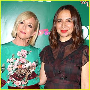 Maya Rudolph & Jane Krakowski Promote 'A Christmas Story Live!' in LA