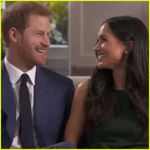 Prince Harry & Meghan Markle Discuss His Mom Princess Diana in First Interview Together (Video)