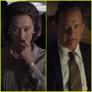 Meryl Streep & Tom Hanks Team Up in 'The Post' Trailer - Watch!