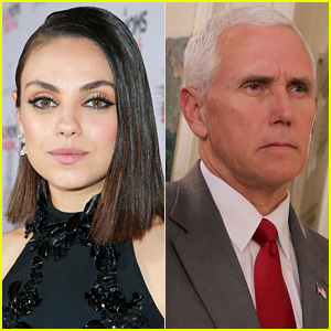 Mila Kunis Makes Monthly Planned Parenthood Donation in VP Mike Pence's Name