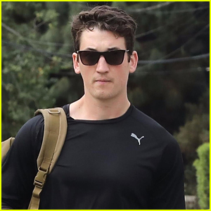 Miles Teller Looks Buff Heading to the Gym in Beverly Hills
