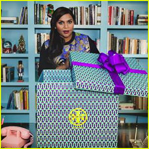 Mindy Kaling Is Holiday Ready With Tory Burch's Help!