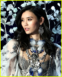 Model Ming Xi Falls on Victoria's Secret Fashion Show Runway & It Was Caught on Video