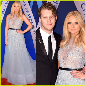 Miranda Lambert's Boyfriend Anderson East Joins Her at CMA Awards 2017!