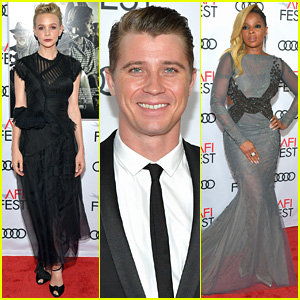 Mudbound's Carey Mulligan, Garrett Hedlund, & Mary J. Blige Open the AFI Fest!