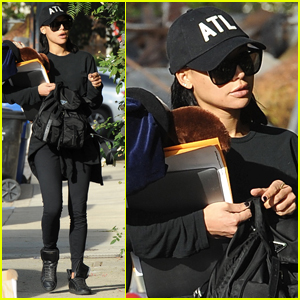 Naya Rivera Steps Out for the First Time Since Arrest