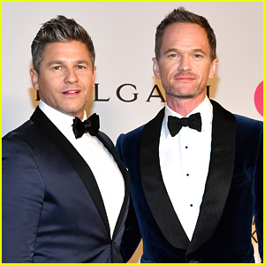 Neil Patrick Harris & David Burtka Couple Up for Elton John's AIDS Foundation Gala