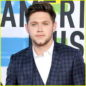 Niall Horan Rocks a Plaid Suit for American Music Awards 2017