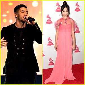 Nick Jonas & Camila Cabello Honor Alejandro Sanz at Latin Grammy Awards 2017!