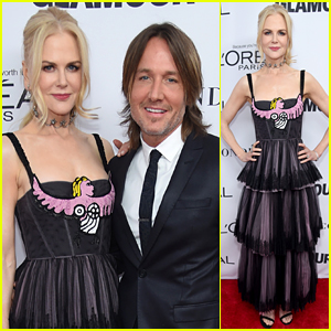 Nicole Kidman & Keith Urban Couple Up for Glamour's Women of the Year Awards 2017