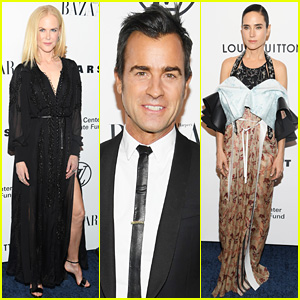 Nicole Kidman, Justin Theroux, & More Stars Attend an Evening Honoring Louis Vuitton!