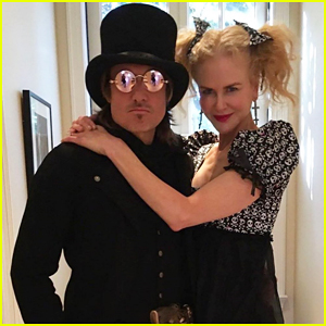 Nicole Kidman & Keith Urban Get Into Halloween Spirit with Matching Couples Costume!