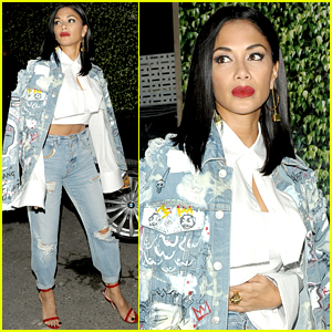 Nicole Scherzinger Debuts Shorter Hair at MTV EMA After-Party