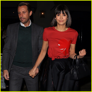 Nina Dobrev Looks Chic While Out to Dinner With Publicist