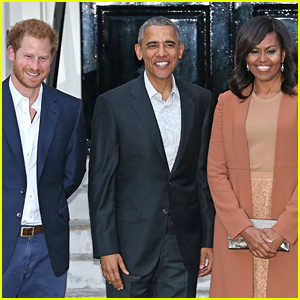 The Obamas Just Congratulated Prince Harry & Meghan Markle on Their Engagement!