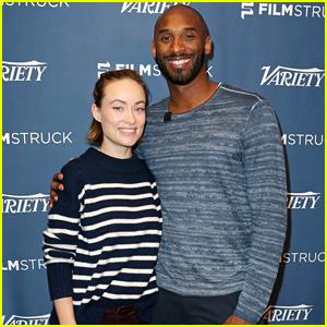 Olivia Wilde & Kobe Bryant Screen Their Short Films at Variety Series