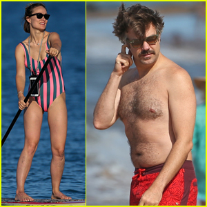 Olivia Wilde & Jason Sudeikis Show Off Their Beach Bodies On Vacation in Hawaii!
