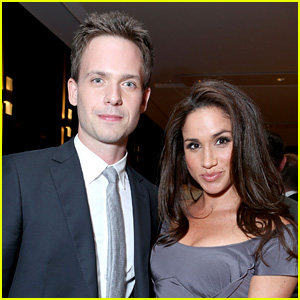 Meghan Markle's 'Suits' Co-Star Patrick J. Adams Reacts to Her Engagement with a Joke!