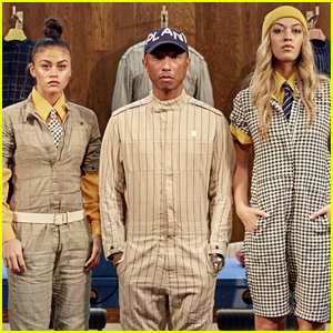 646e24962133 Pharrell Williams Launches G-Star Raw Suit Collection!