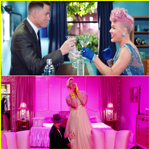 Pink & Channing Tatum Dance It Out in 'Beautiful Trauma' Music Video - Watch Here!