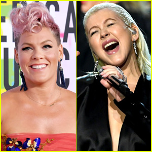 Pink Praises Former Enemy Christina Aguilera's AMAs Performance!