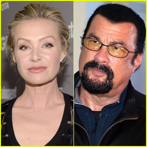 Portia de Rossi Accuses Steven Seagal of Sexual Misconduct, Wife Ellen DeGeneres Shows Her Support