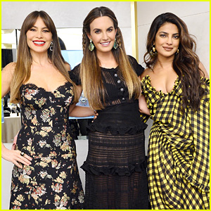 Priyanka Chopra & Sofia Vergara Join Elizabeth Chambers for Jewelry Event