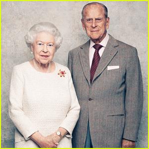 Queen Elizabeth & Prince Philip Celebrate 70th Anniversary with New Portraits!