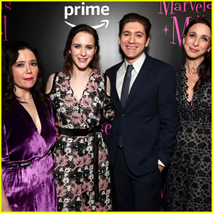 Rachel Brosnahan Joins 'Marvelous Mrs. Maisel' Co-Stars at NYC Premiere!