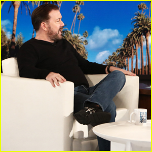 Ricky Gervais Tells 'Ellen' He Doesn't Want Children with Longtime Girlfriend Jane Fallon