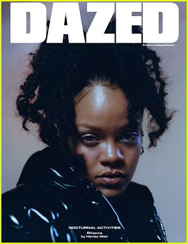 Rihanna Covers Dazed's Four Winter 2017 Issues!