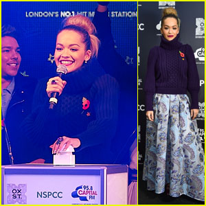 Rita Ora Switches on the Oxford Street Christmas Lights in London!