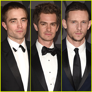Robert Pattinson, Andrew Garfield, & Jamie Bell Represent the Brits at Governors Awards 2017