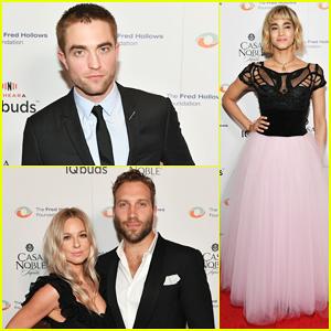 Robert Pattinson & Jai Courtney Support Joel Edgerton at Fred Hollows Foundation Gala 2017!