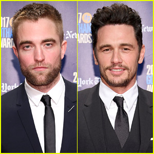 Nominees Robert Pattinson & James Franco Are Scruffy Studs at Gotham Awards 2017