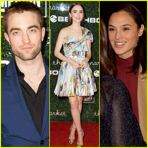 Robert Pattinson, Lily Collins, & Gal Gadot Support Go Campaign at 2017 Gala
