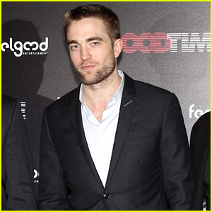 Robert Pattinson Suits Up for 'Good Time' Premiere in Athens