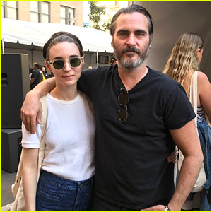 Rooney Mara & Joaquin Phoenix Couple Up at All-Vegan Food & Music Fest