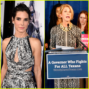 Sandra Bullock to Play Senator Wendy Davis in New Movie 'Let Her Speak'!