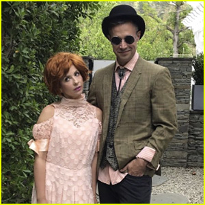 Sarah Michelle Gellar & Freddie Prinze Jr. Are 'Pretty in Pink' Characters for Halloween!
