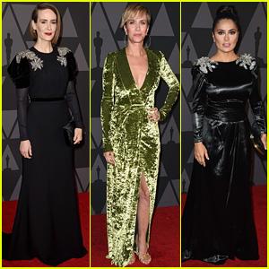 Sarah Paulson & Kristen Wiig Join More Amazing Women at Governors Awards 2017