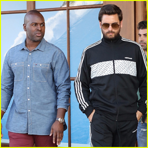 Scott Disick & Corey Gamble Go Shopping Ahead of Ski Trip!