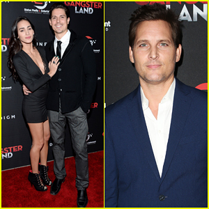 Sean Faris Gets Support From Wife Cherie Daly at 'Gangster Land' Premiere - Watch Trailer!
