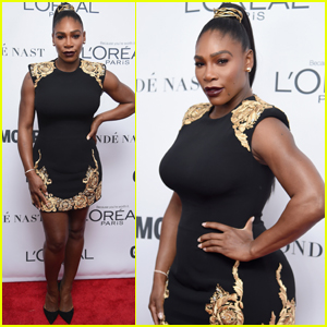 Serena Williams Hits the Red Carpet for the First Time Since Giving Birth