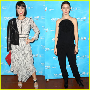 Unreal's Constance Zimmer & Shiri Appleby Compete in Vulture Festival's Gameshow!
