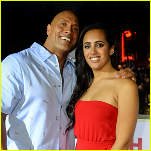 Dwayne Johnson's Daughter Simone Named Golden Globe Ambassador for 2018!